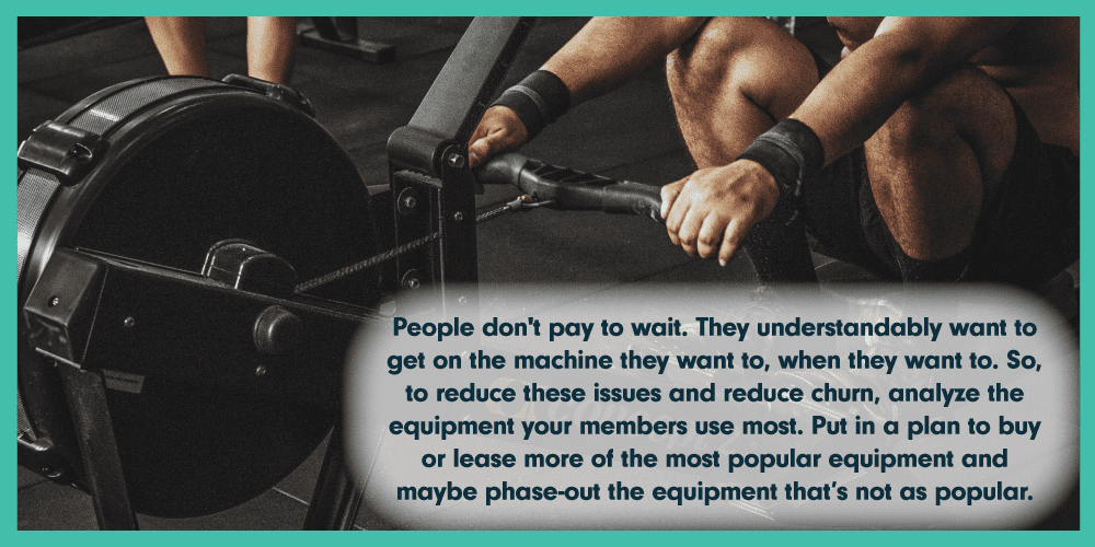 gym customer retention quote