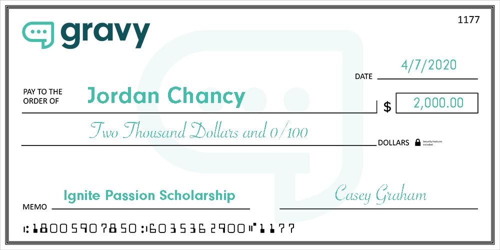 scholarship reward