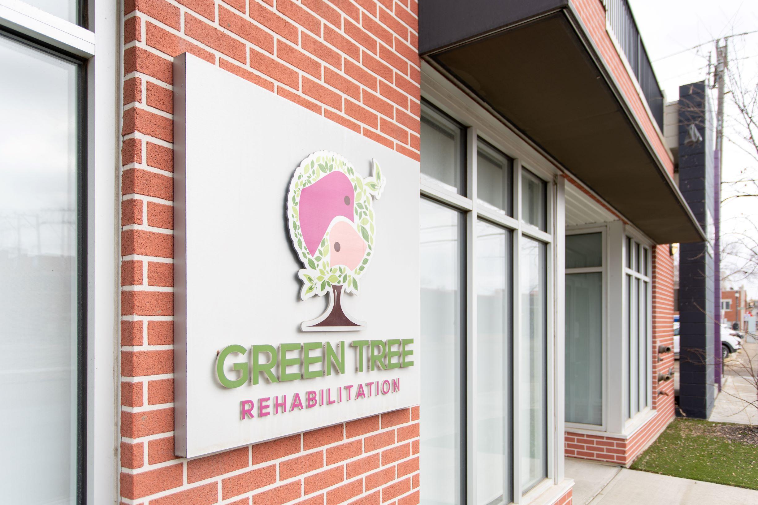 Greentree Rehabilitaiton signage