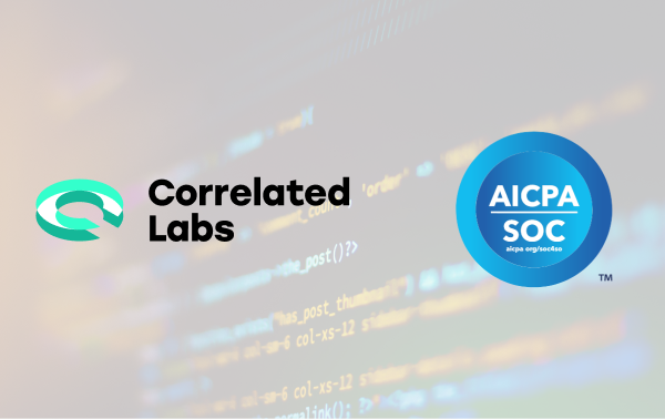 Correlated Labs is SOC 2 Compliant