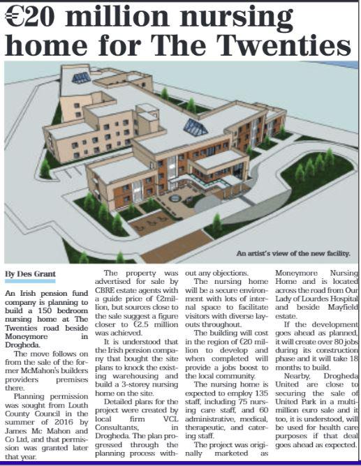New Nursing home for Drogheda