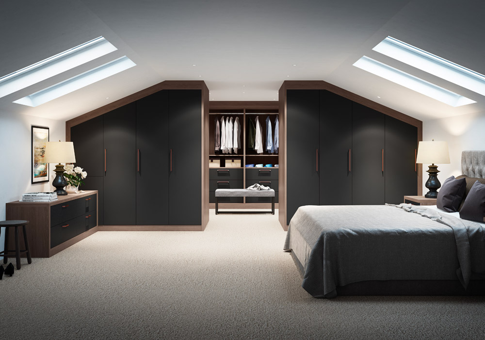 Fitted bedroom design company Warwickshire