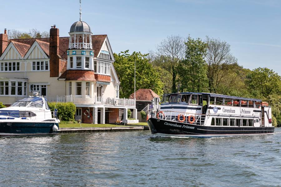 Private Boat Chart River Thames