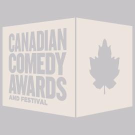 canadian comedy awards logo white