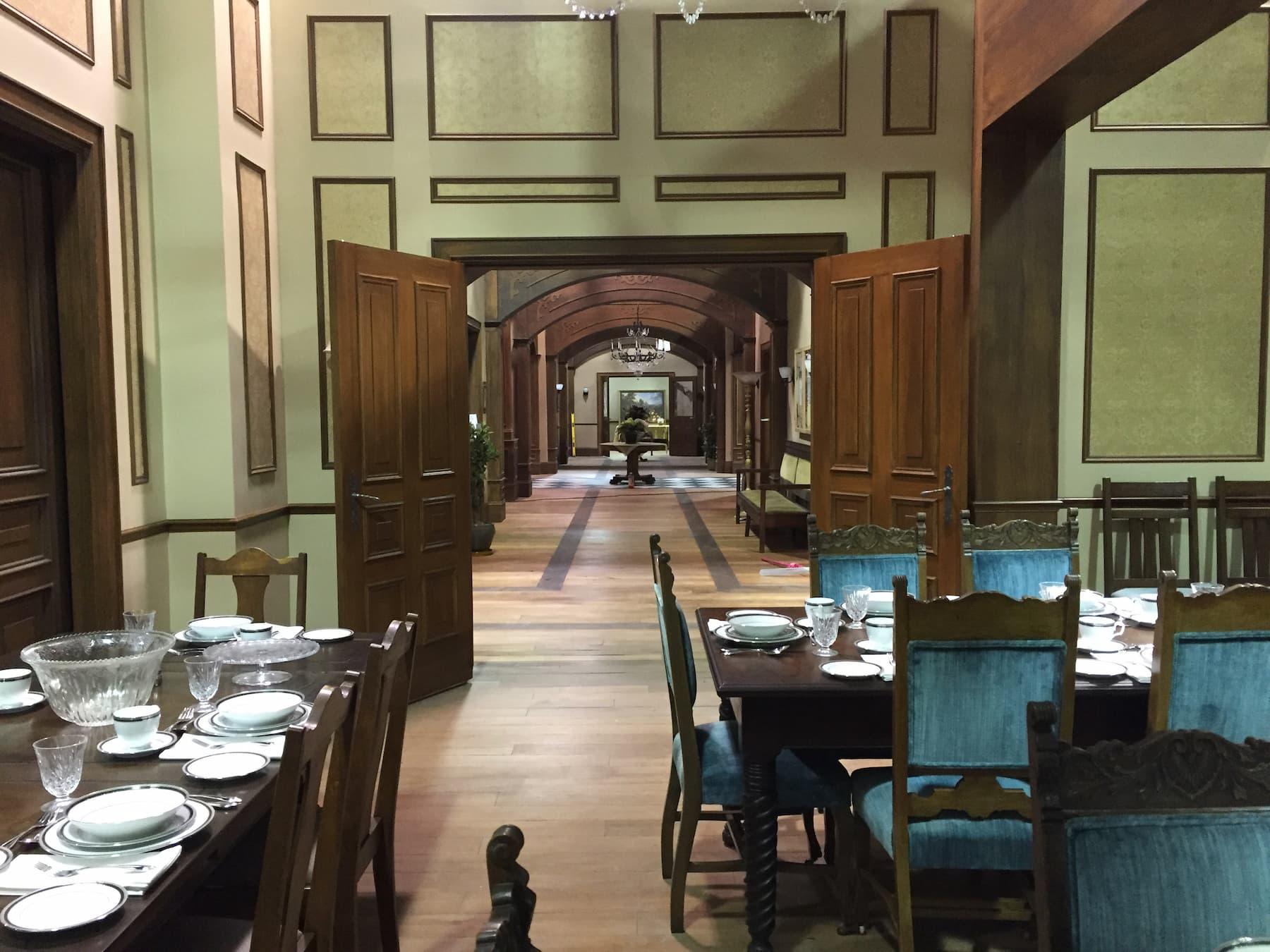 dinning hall in prep school