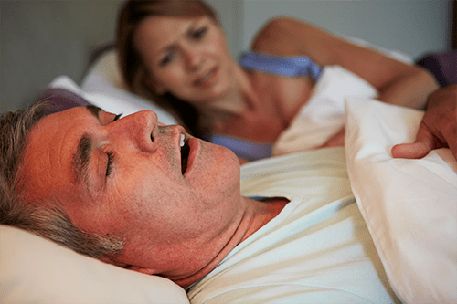 Snoring is disruptive to everyone's sleep
