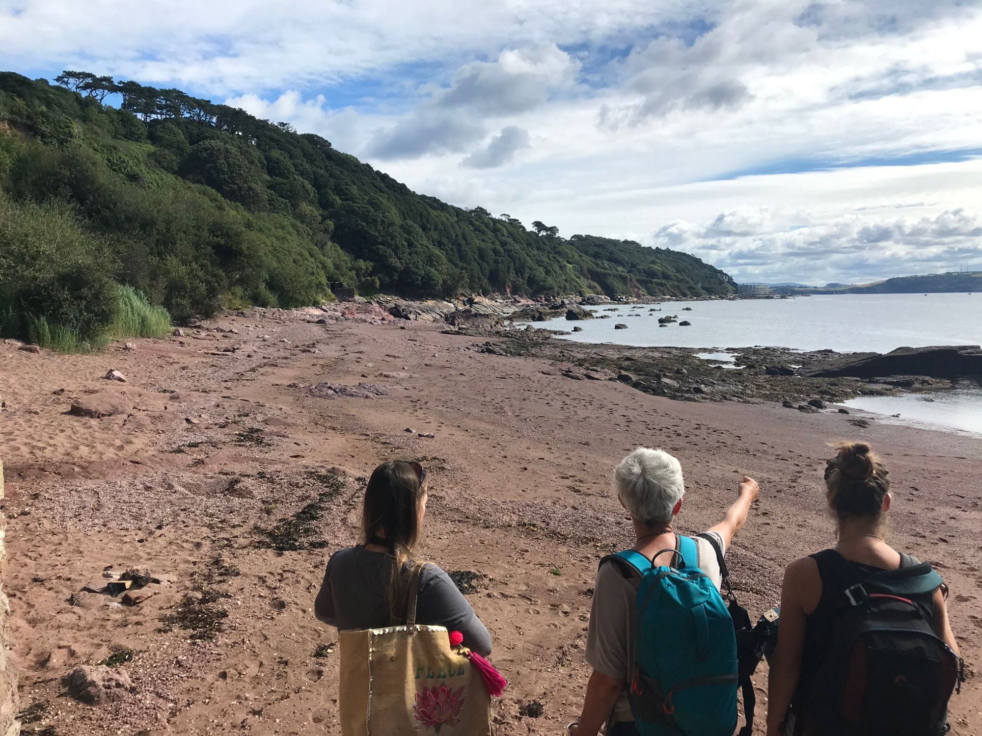 Cornwall Climate Care gallery - beach checking