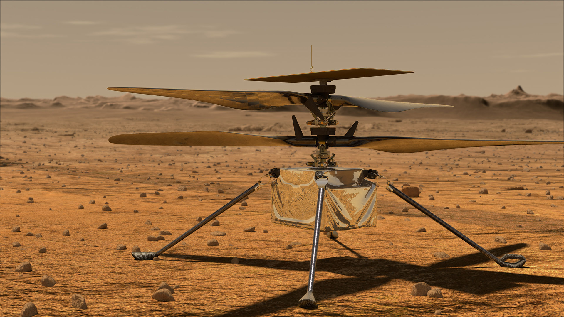 Watch with us as Ingenuity takes flight on Mars!