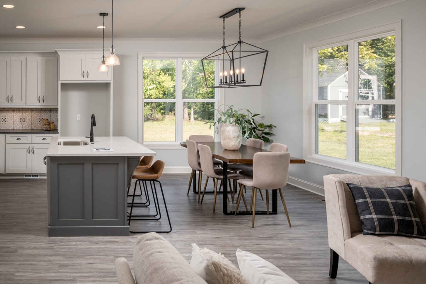 Cozy Kitchen in new construction home