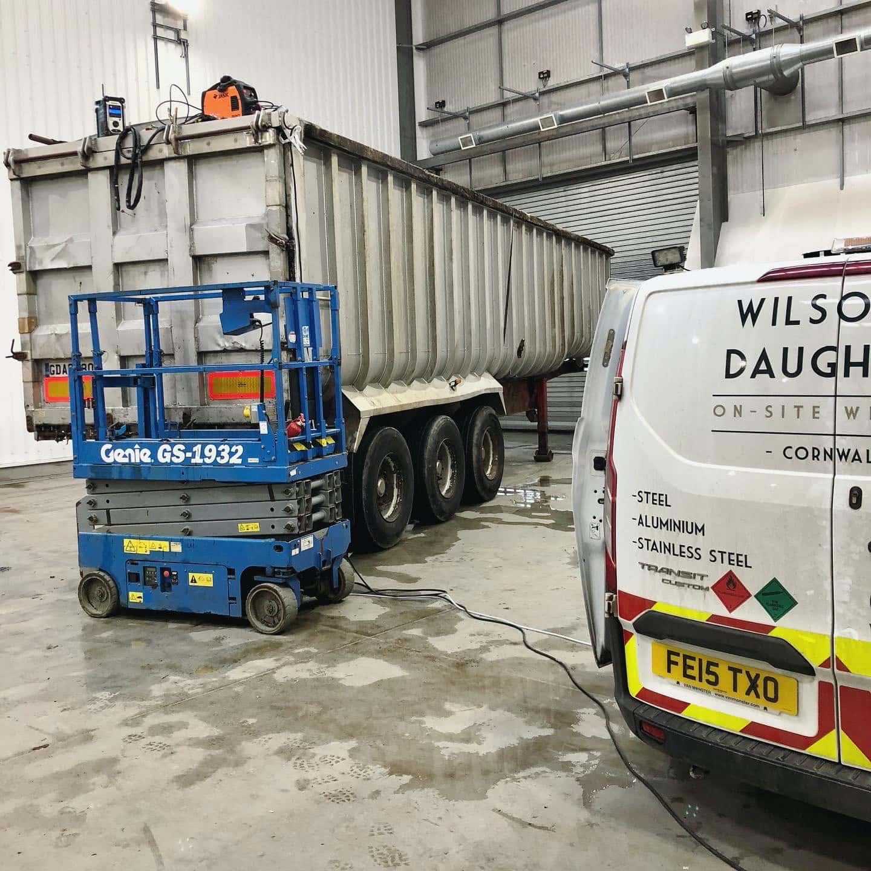 Commercial Vehicle Welding