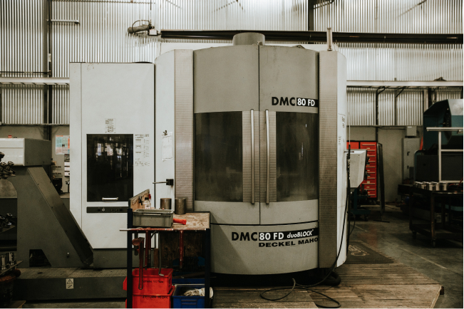 DMC 80FD Deckel Maho 5 axis CNC Mill