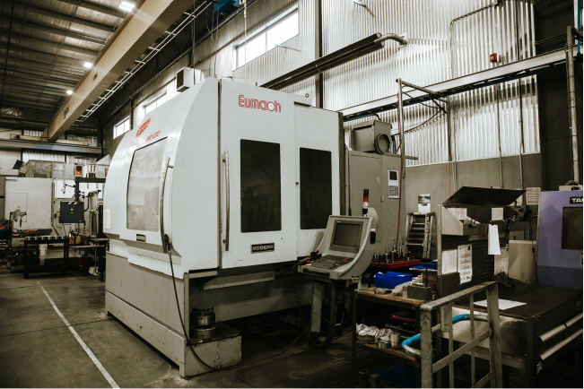 Eumach UMC 1000 5-axis CNC Mill