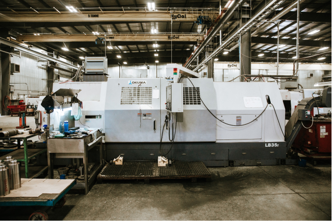 Okuma LB35II CNC Lathe (2 Machines)