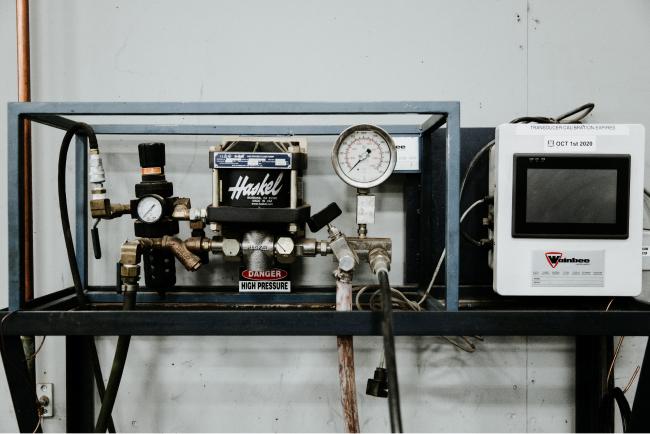 Wainbee/Haskel Pressure Tester