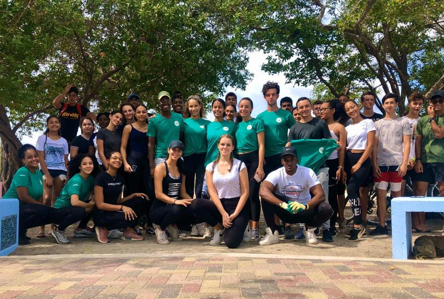 Youth for Climate Beach Cleanup