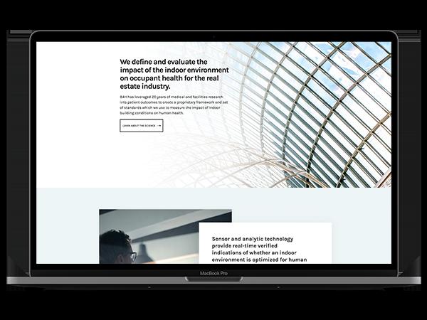 Building 4 Health: A scalable custom website
