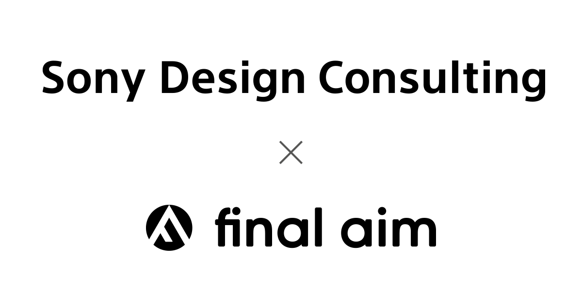 Publication site by Sony Design Consulting and Final Aim