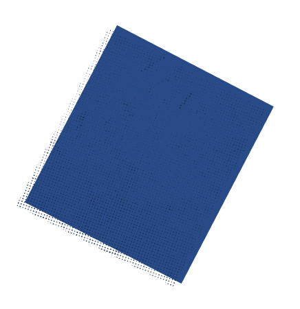 Blue flying ballot