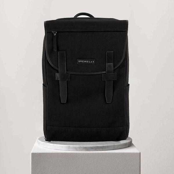 Svenklas Roscoe Black Backpack