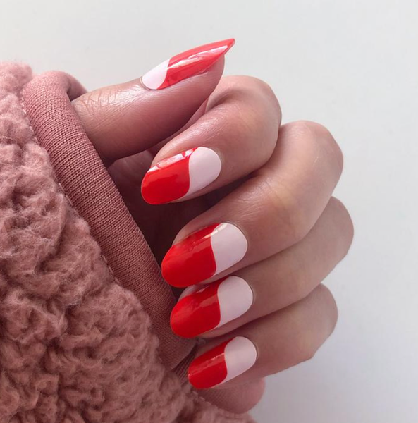 Creamsicle Instant Manicure Nail Wrap