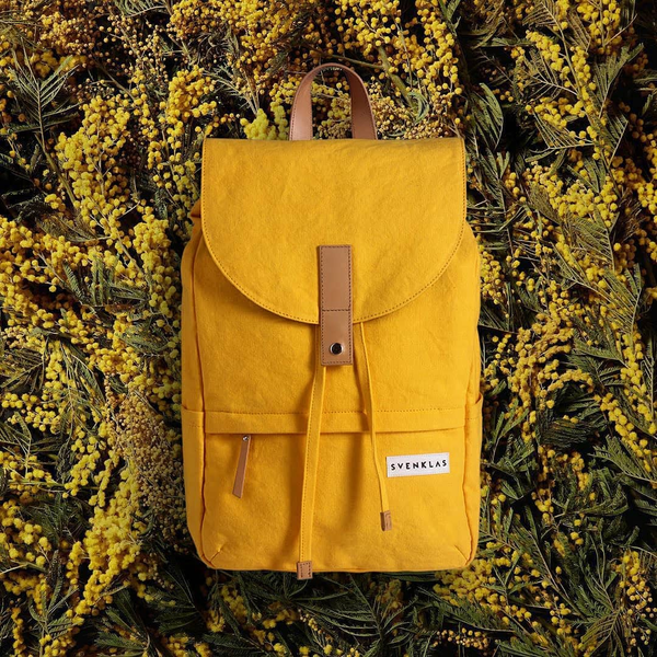 Svenklas Hagen Yellow Backpack