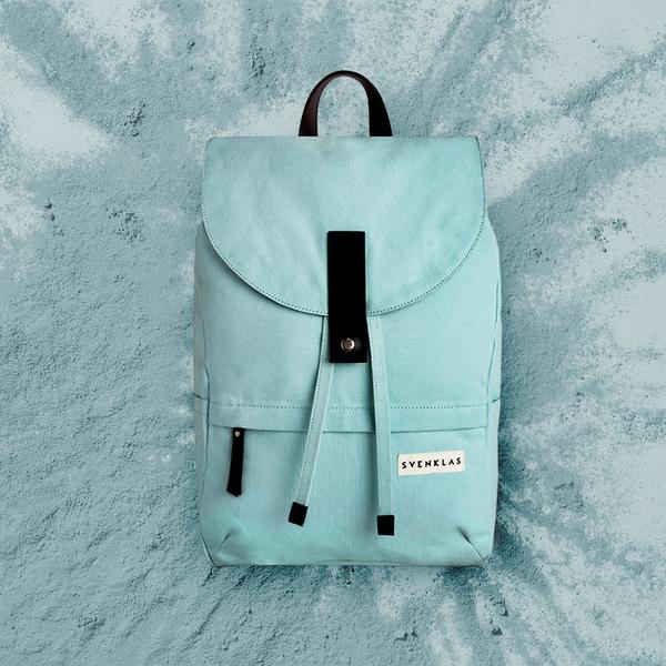 Svenklas Hagen Turquoise Backpack
