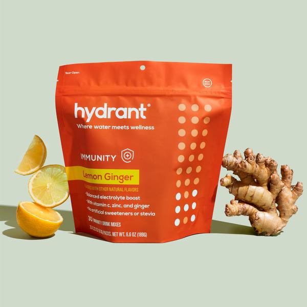 Immunity Lemon Ginger