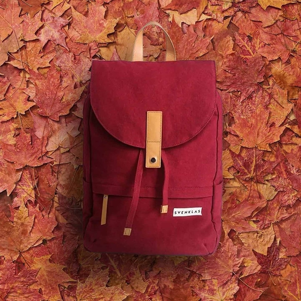 Svenklas Hagen Red Backpack