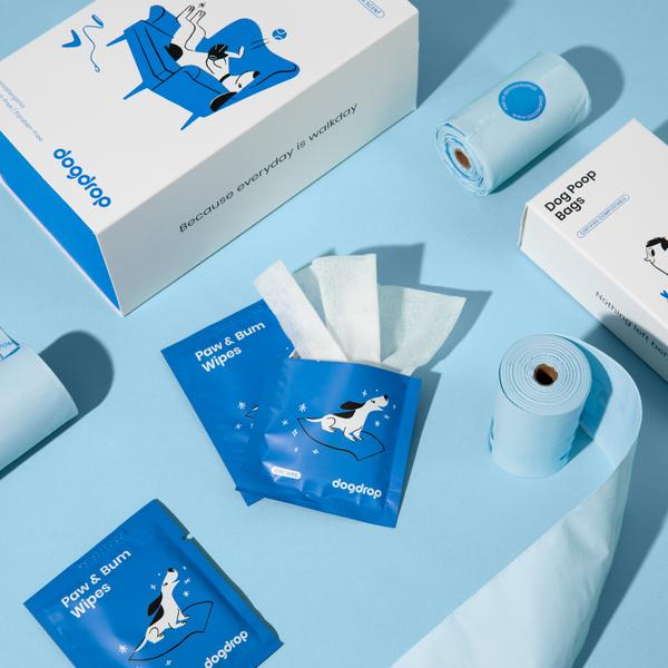 Wipes & Poop Bags Bundle - (2mo Supply)