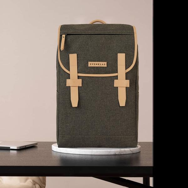 Svenklas Roscoe Earth Brown Backpack