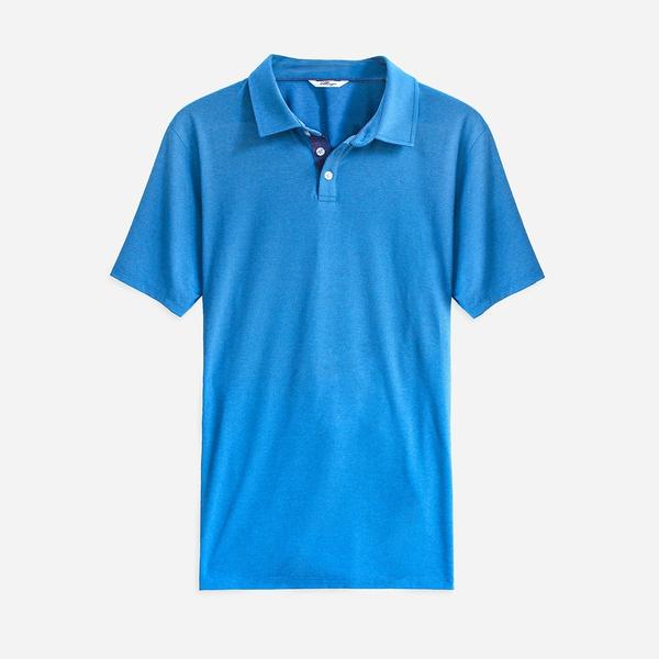 Etiquette Performance Polo [Blue]