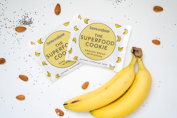 Banana Bread Superfood Cookie - 12 Pack