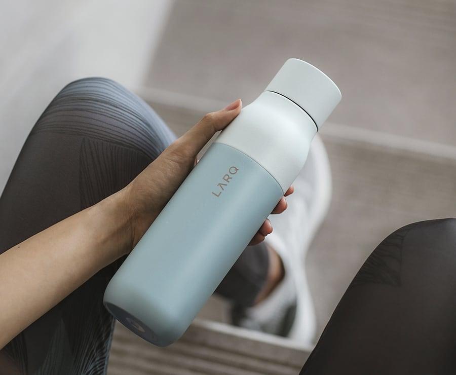 Digital Water Purification Bottle