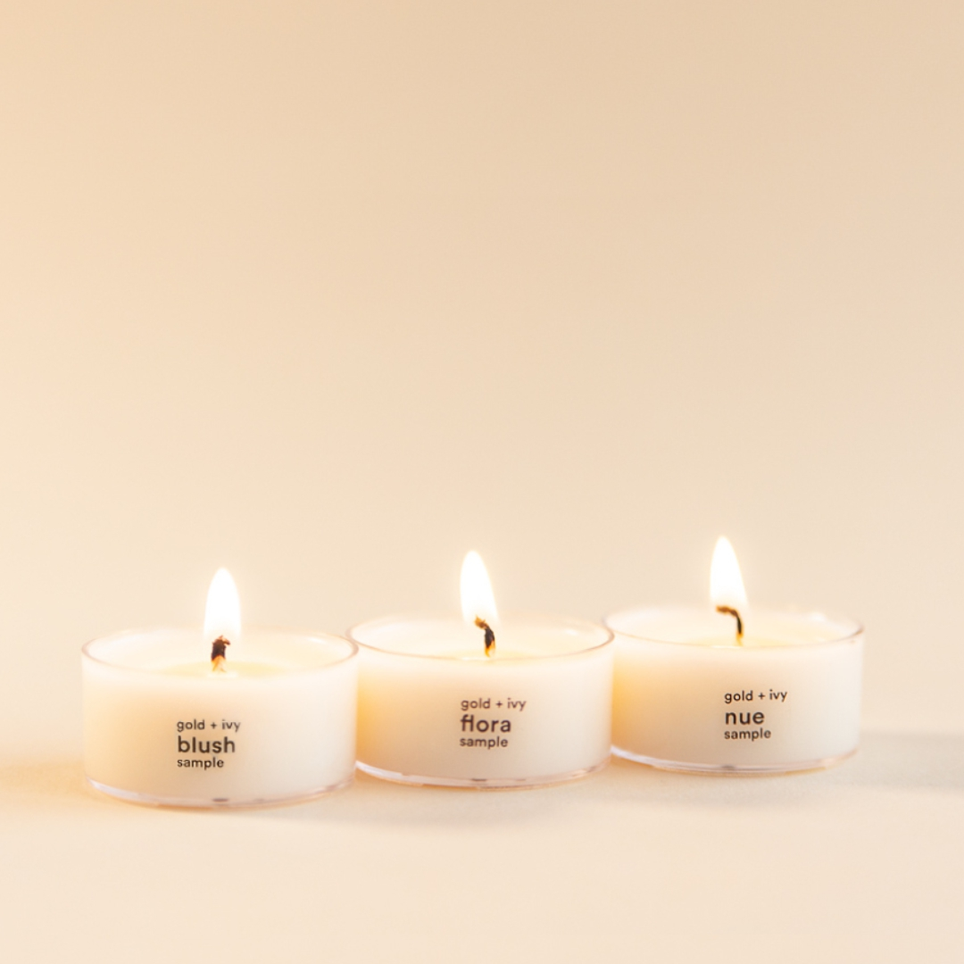 soy candle sample set
