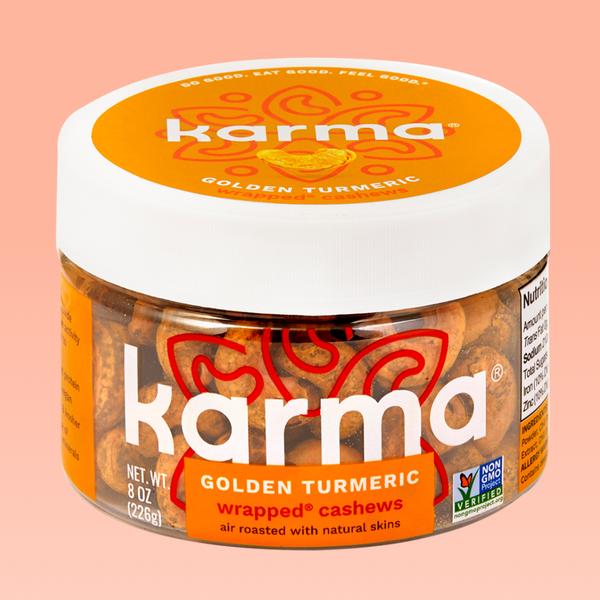 Golden Turmeric Wrapped® Cashews