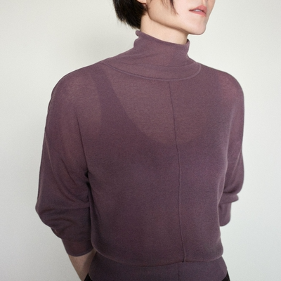 Classic Merino Wool Turtleneck Sweater