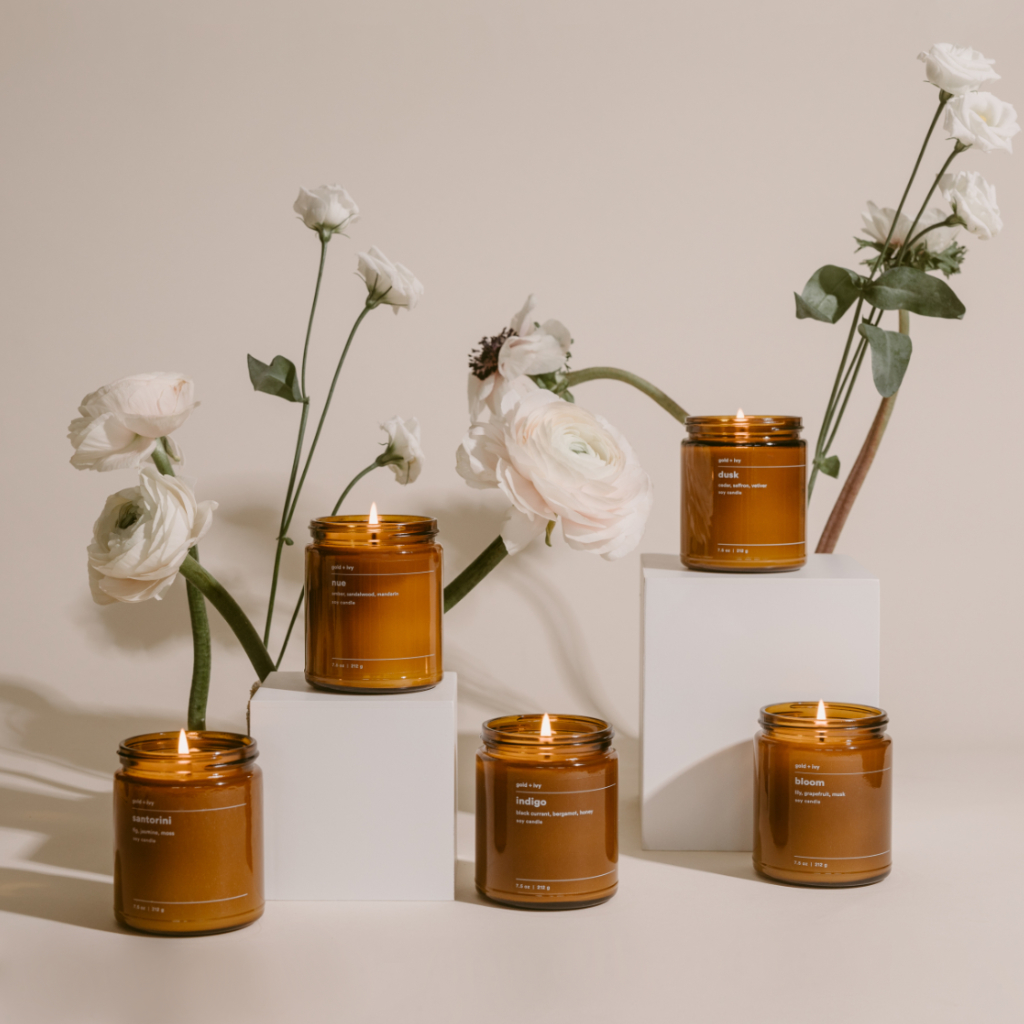 spring candle set