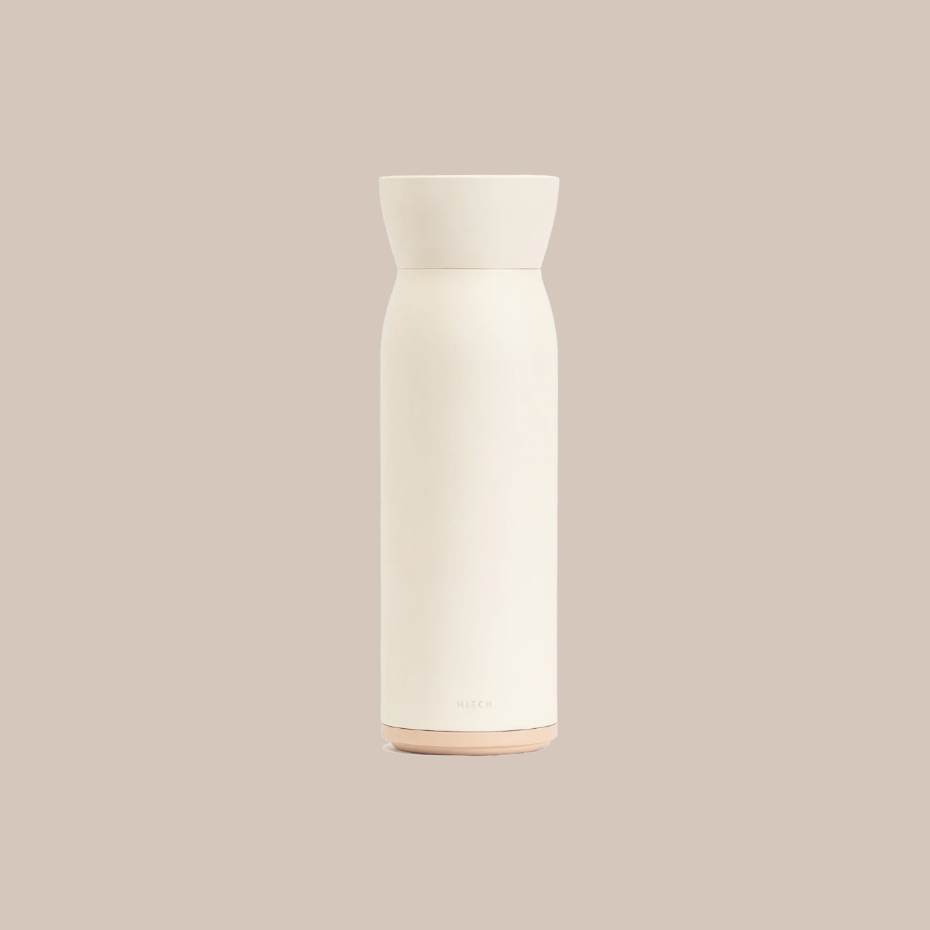 Bottle and Cup in Natural White