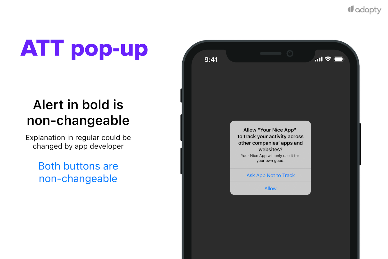 guide to ATT pop-up