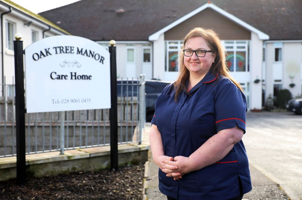 Oak Tree Manor Welcomes New Care Home Manager - Tracey Anderson