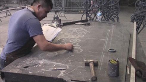 Amador Iron Works Fabricates Custom Wrought Iron Doors In Houston