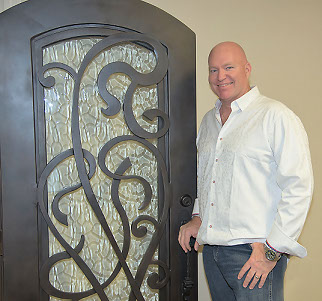 Professional Custom Wrought Iron Door Installer in Houston The Woodlands, Conroe, Spring Texas