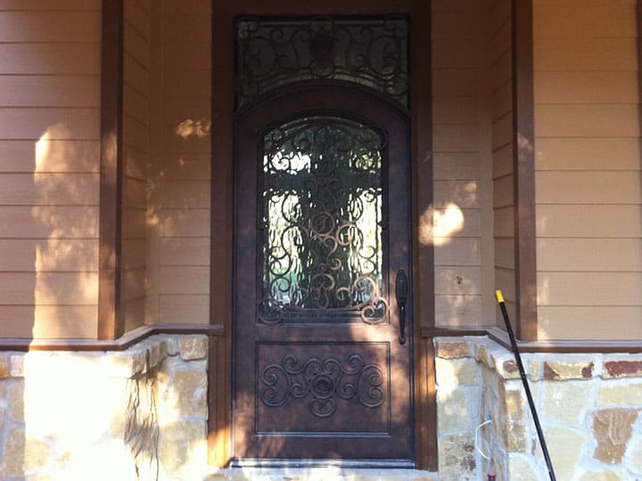 custom wrought iron door units in houston spring the woodlands conroe
