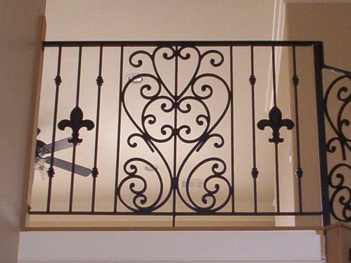 custom wrought iron railings in houston spring the woodlands conroe