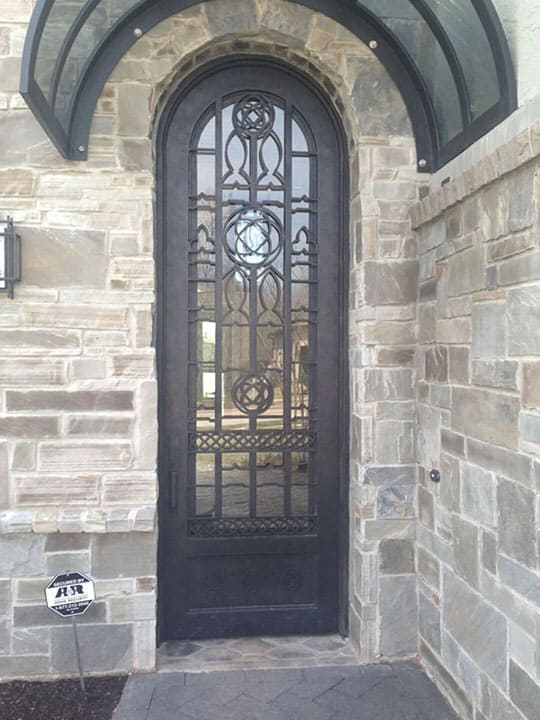 custom wrought iron entry gates in houston spring the woodlands conroe
