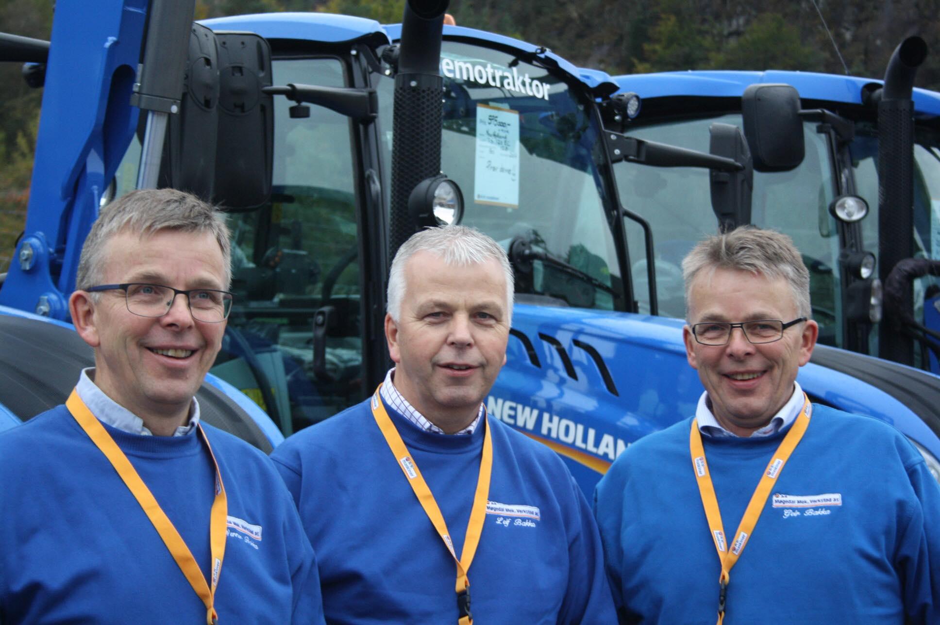 Werner Bakka, Leif Bakka og Geir Bakka.
