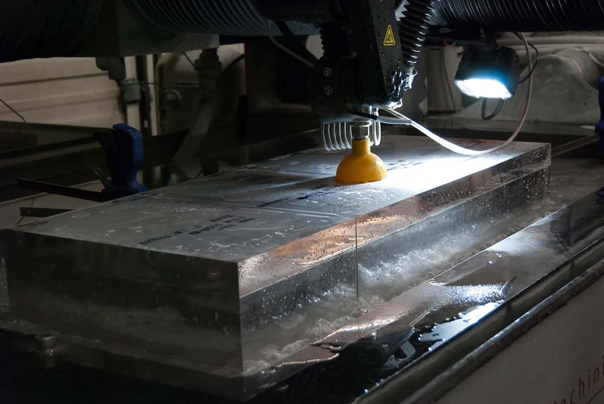 SMP Waterjet Cutting & Machining