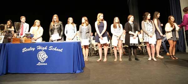 scholarship award ceramony