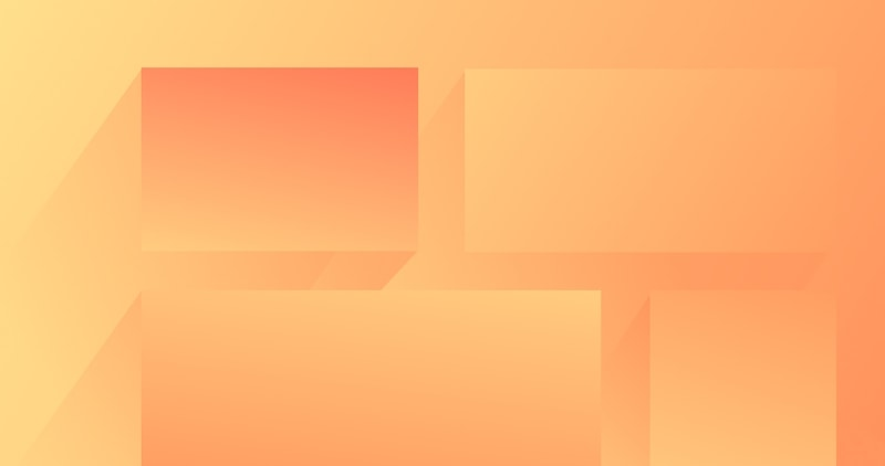 Abstract illustration of boxes in a grid to represent the CSS Grid course