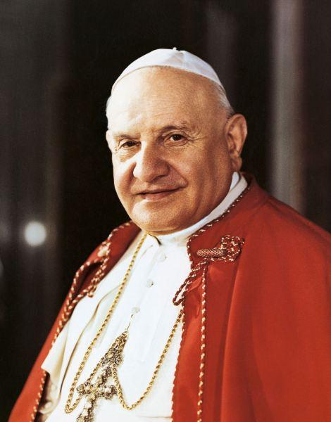 Saint Pope John XXIII portrait